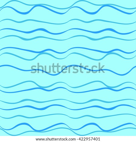 Waves, lines  - seamless vector background. Use printed materials, signs, items, websites, maps, posters, postcards, packaging.