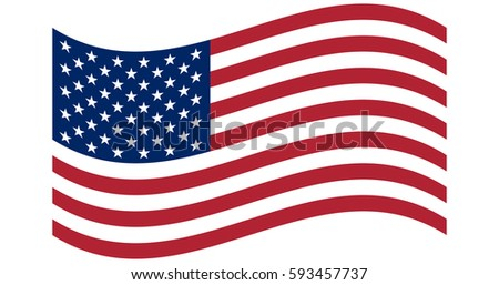 waving flag united states america original stock photo photo rh shutterstock com vector us flag stars free vector usa flag