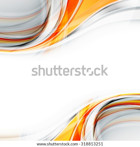 wavy abstract background. Vector design. Eps10 - stock vector
