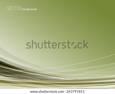 Wavy Background. Abstract Vector Illustration. Eps10. - stock vector