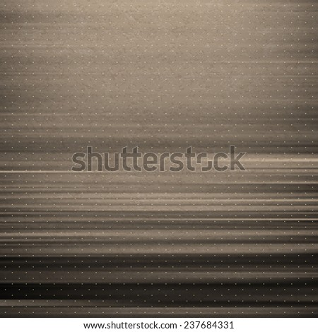 Wavy metallic background. Steel plate template. Abstract pattern. Vintage style. Vector Illustration.  - stock vector