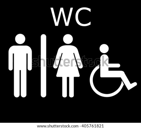 WC icon, WC icon eps10, WC icon vector, WC icon eps, WC icon jpg, WC icon picture, WC icon flat, WC icon app, WC icon web, WC icon art, WC icon, WC icon object, WC icon flat, WC icon UI, WC icon JPG - stock vector