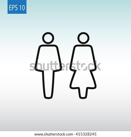WC Icon. WC Icon Vector. WC Icon Art. WC Icon eps. WC Icon Image. WC Icon logo. WC Icon Sign. WC Icon Flat. WC Icon design. WC icon app. WC icon UI. WC icon web. WC icon. WC icon simple. icon WC - stock vector