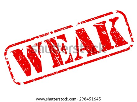 Weak red stamp text on white - stock vector