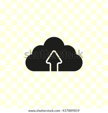 weather icon, black vector illustration