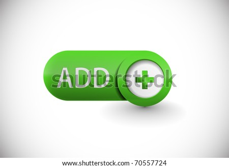 web add icon, includes two versions for your web icon. - stock vector