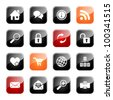 Web and Internet- professional icons for your website, application, or presentation, eps10 - stock photo