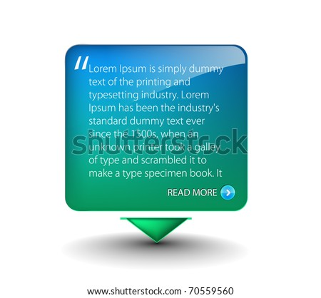 web banner elements for web templete design used. - stock vector