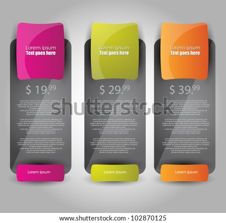 web banners best for sale advertisement - stock vector