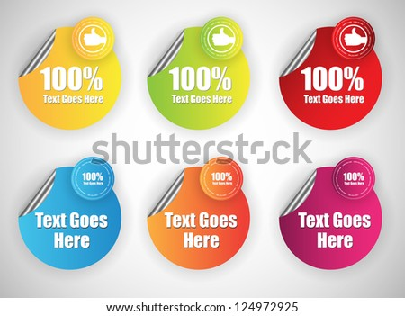 web banners for sale and advertisement - stock vector
