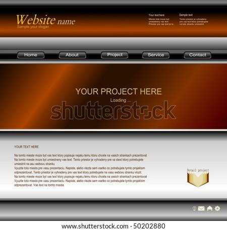 web design 1 - stock vector