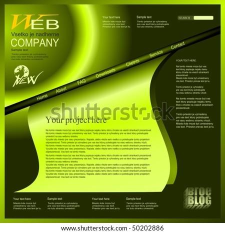 web design 2 - stock vector