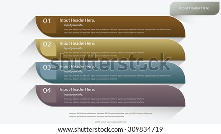 Web Design Website Elements Template for graphic internet. button. text box. label. info graphics. - stock vector