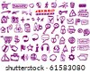 Web doodles - stock vector