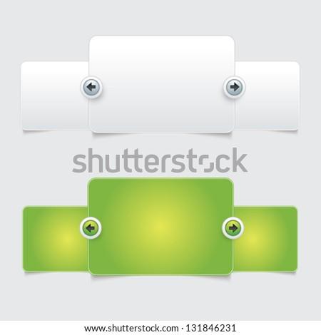 Web Elements Design - stock vector