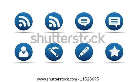 Web icon set 7 | Aloha series - stock vector