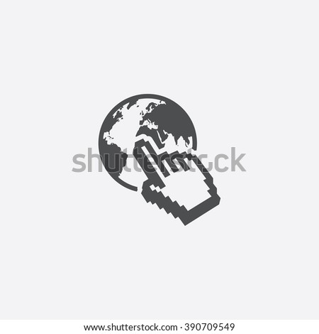 web Icon, web Icon Vector, web Icon Art, web Icon eps, web Icon Image, web Icon logo, web Icon Sign, web icon Flat, web Icon design, web icon app, web icon UI, web icon gray, web icon simple, icon web - stock vector