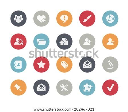 Web Icons // Classics Series - stock vector