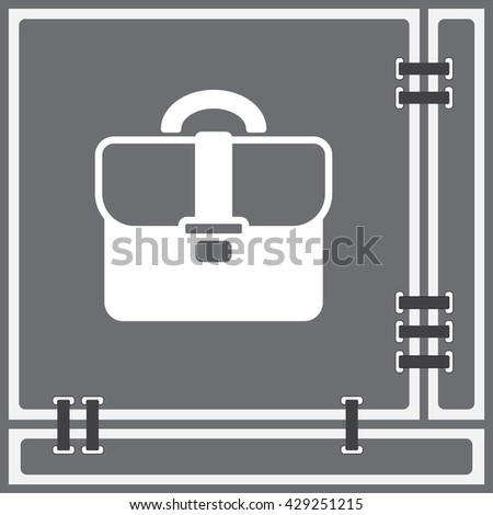 Web line icon. Business; Portfolio (briefcase)