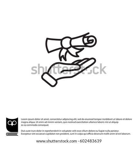 hand diploma stock images royalty images vectors  diploma in hand