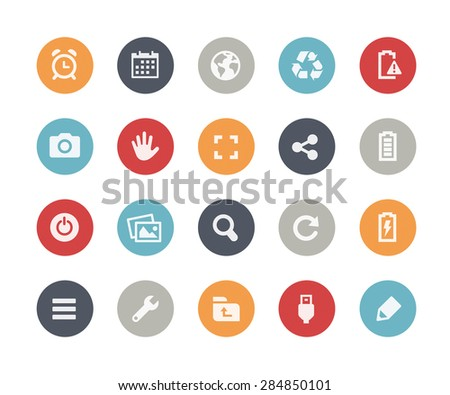 Web & Mobile Icons - 3 // Classics Series - stock vector