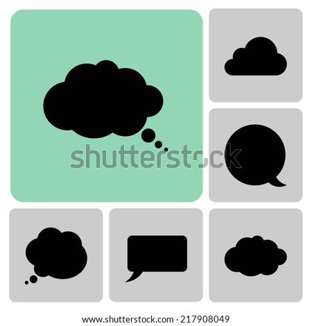 Web set icons - stock vector