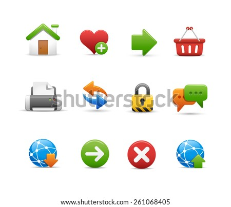 Web Site Icon Set