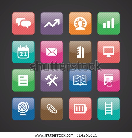 webdesign icons universal set for web and mobile
