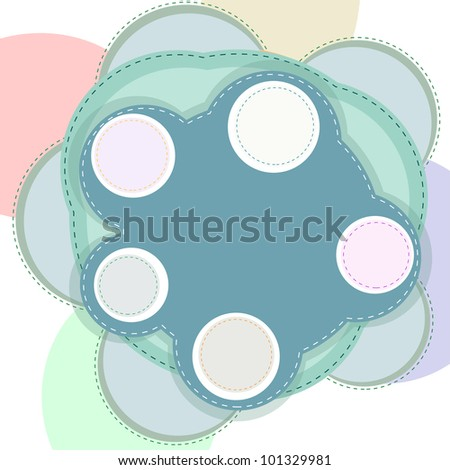Website abstract template. vector background