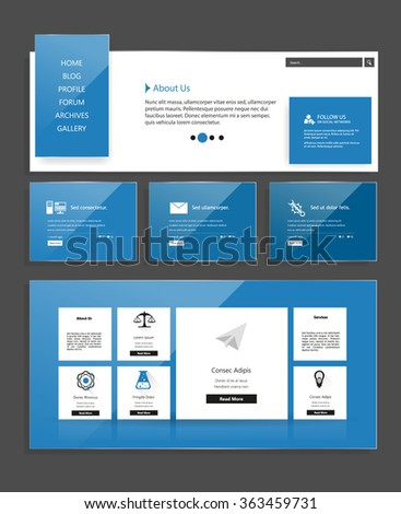 Website Design Template For Your Business