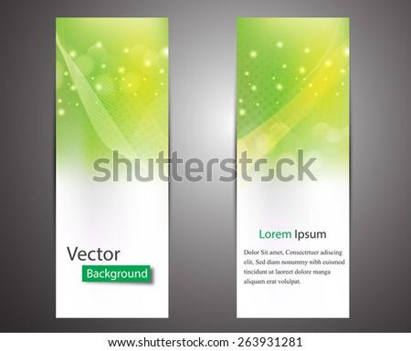 Website header or banner set. EPS 10 - stock vector