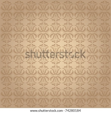 Wector wall decoration - stock vector