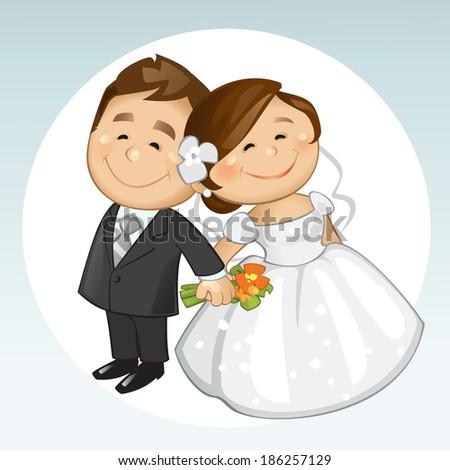 Wedding - stock vector