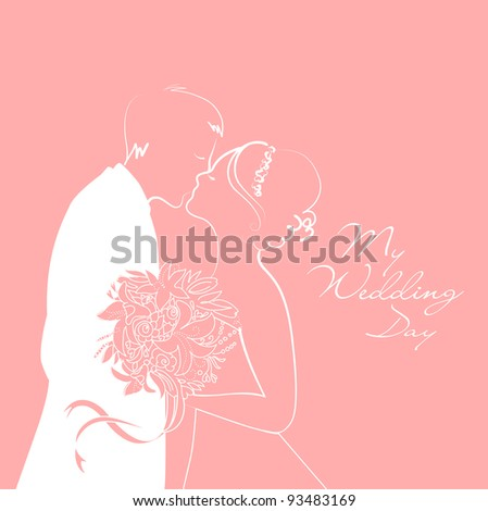 Wedding Background - stock vector