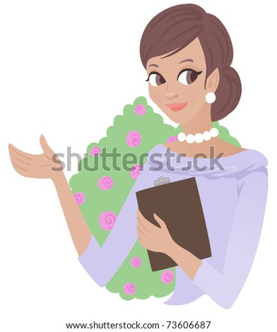 Wedding planner - stock vector