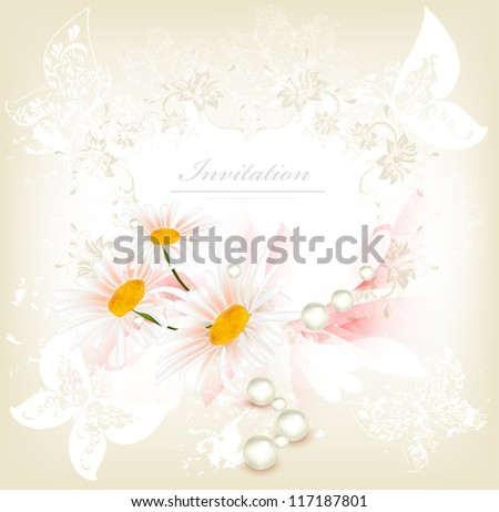 Wedding vector - stock vector