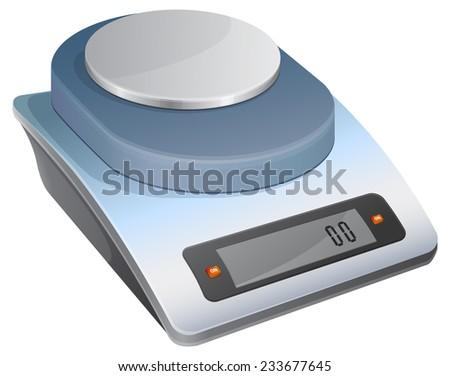 Weight Balance - Illustration - stock vector