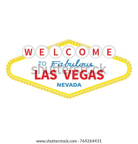 Welcome las vegas sign icon classic stock vector 764264431 welcome to las vegas sign icon classic retro symbol nevada sight showplace flat pronofoot35fo Choice Image