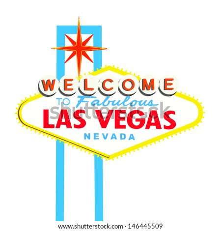 Vegas sign stock images royalty free images vectors shutterstock welcome to las vegas sign on white pronofoot35fo Choice Image