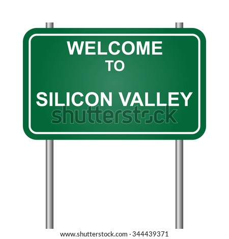 Welcome to Silicon Valley vector