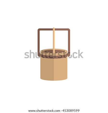 well - stock vector