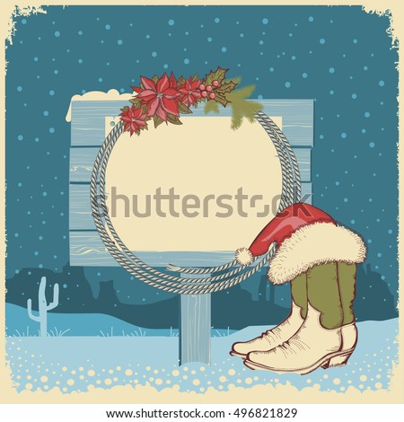 Cowboy Christmas Stock Photos, Royalty-Free Images & Vectors ...