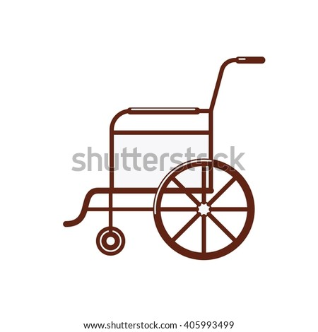 wheel chair. For the disabled or hospital patients.