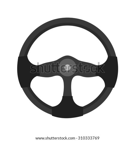 Wheel, Steering, car icon vectgor image. Can also be used for transport, transportation and travel. Suitable for mobile apps, web apps and print media.