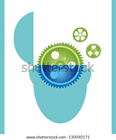 Where is my mind - stock vector