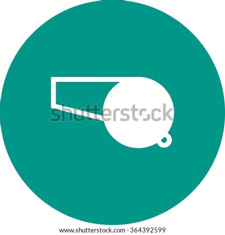 Whistle - stock vector
