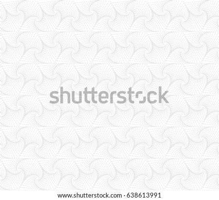 White Abstract Geometric Seamless Pattern Vector Light Background For Layouts Website Backdrop Wallpaper