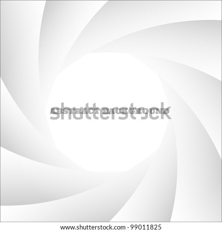 White abstract shutter photo.Vector eps10 - stock vector