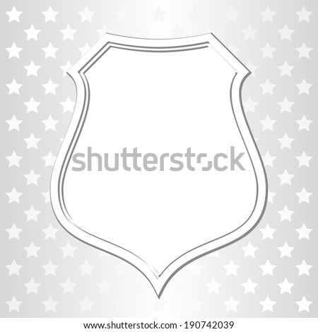 white background with rays and frame