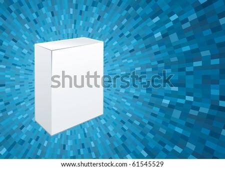 White box - stock vector
